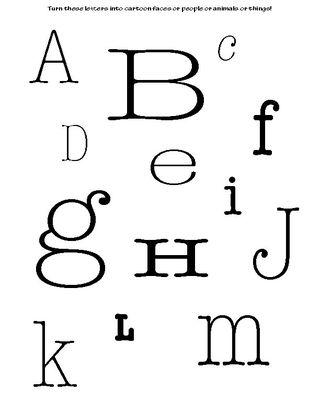 Alphabetnumbersblank