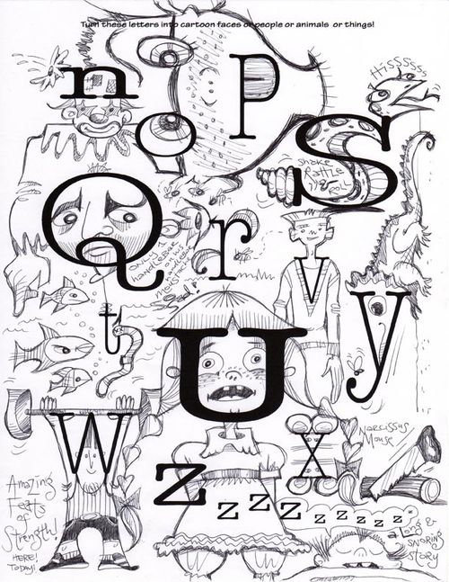 Alphabetlettersn_z