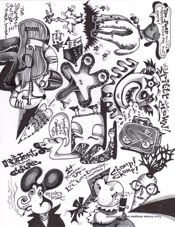 Doodleshapesme