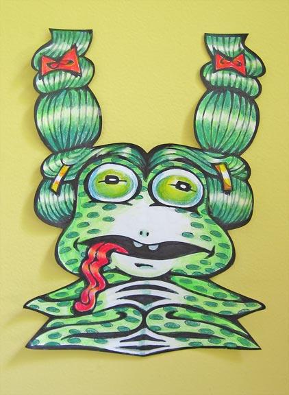 11cursivefrog