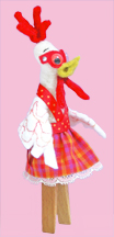 Chickenredplaid