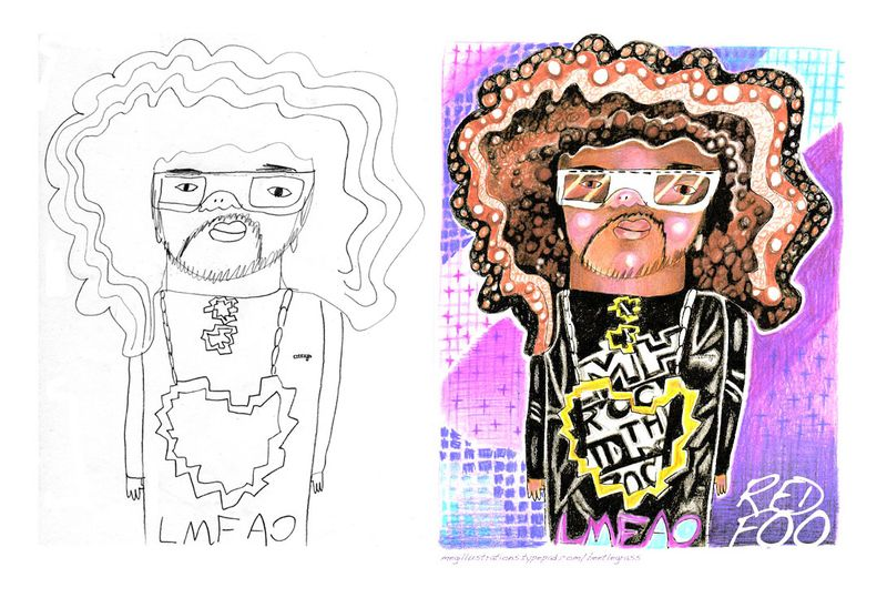 Redfoo-side-by-side