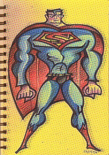 Supermandots